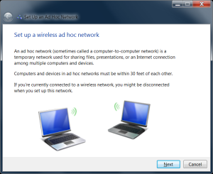 Menghubungkan 2 Laptop Via Wireless (ad hoc) di Windows 7 - 1