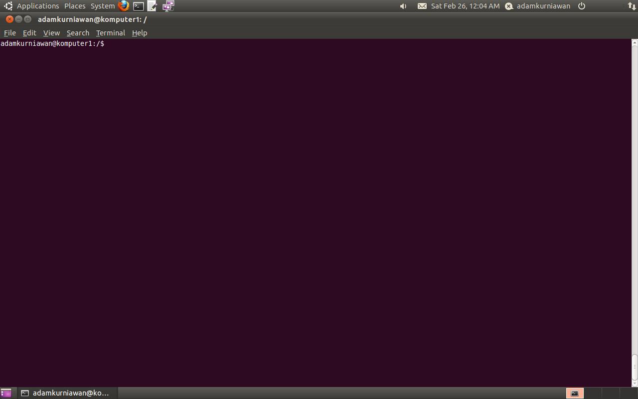 how to run in root mode ubuntu terminal