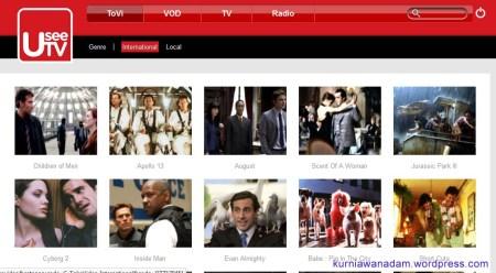 Orang Keren, Nonton Film, Nonton TV, denger Music dan Radio pakai UseeTV (2)