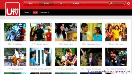 Orang Keren, Nonton Film, Nonton TV, denger Music dan Radio pakai UseeTV (3)