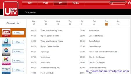 Orang Keren, Nonton Film, Nonton TV, denger Music dan Radio pakai UseeTV (4)
